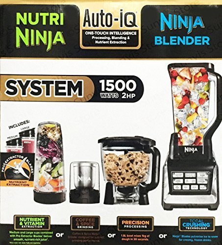 Nutri Ninja Bl682 Complete Kitchen System Black Grey
