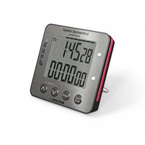Heston Blumenthal Electronic Dual Timer, Multi-Colour