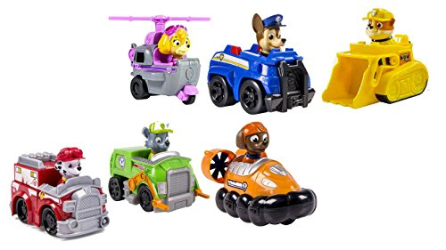 Paw Patrol - Paw Racer Gift Set (Pack of 6 Vehicles)
