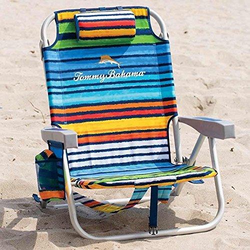 The Tommy Bahama Back Pack Beach Chair (Rainbow)