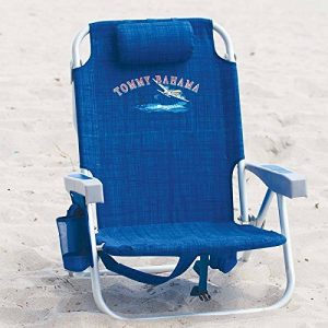 The Tommy Bahama Back Pack Beach Chair ( Blue)