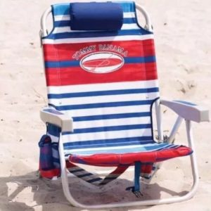 The Tommy Bahama Back Pack Beach Chair (Blue Stripe)