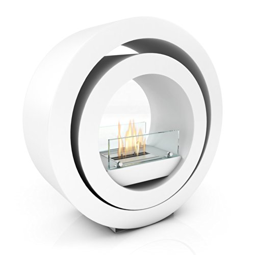 Imagin Bio ethanol Fireplace - Globus White