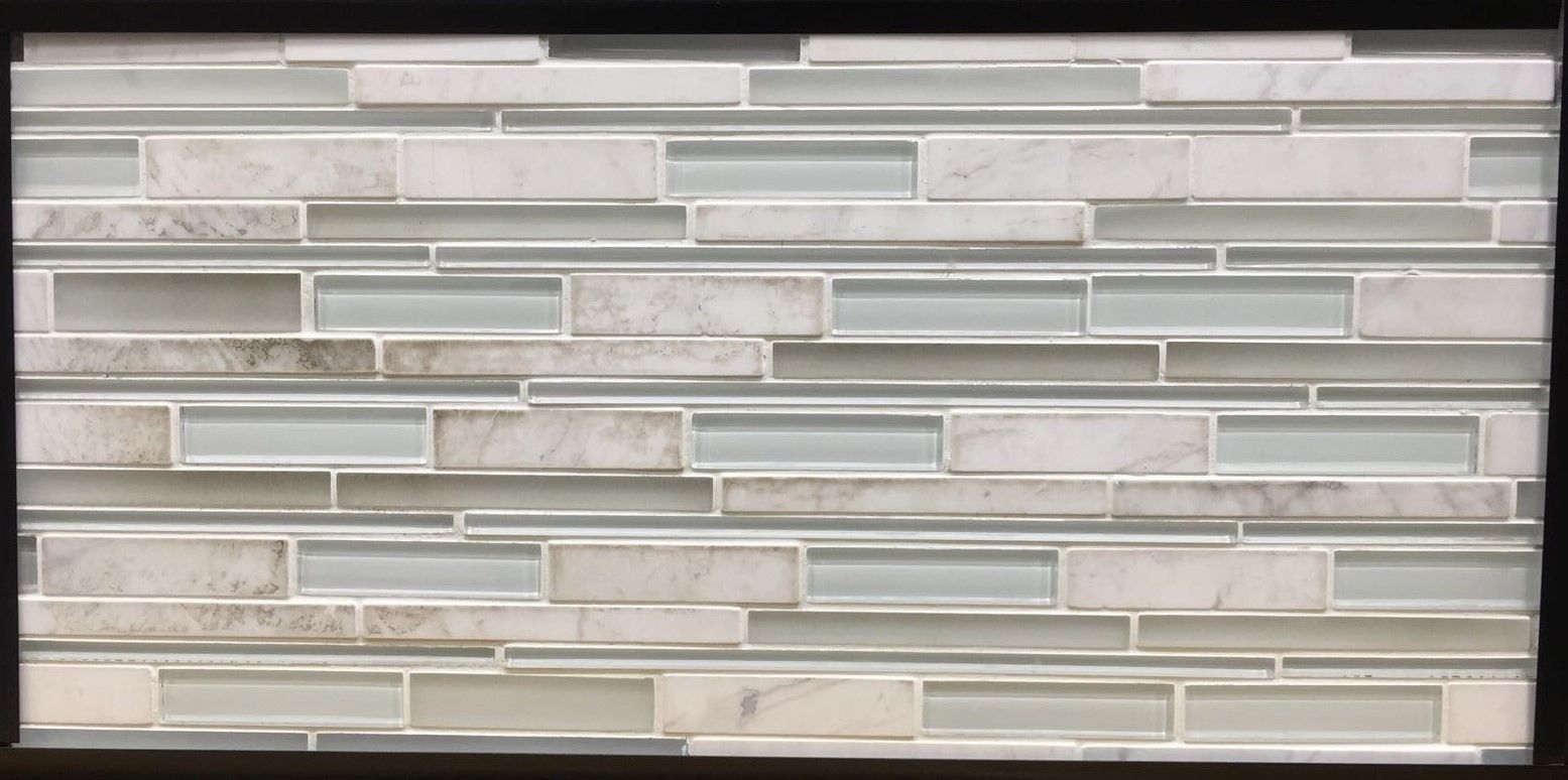 Golden Select Glass Amp Stone Mosaic Wall Tile 0 465 Sq