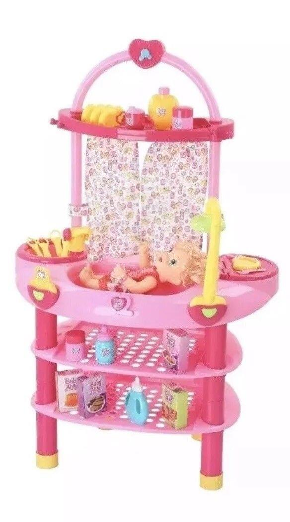 Baby Alive Cook/'N Care 3 in 1 Set for 16 in Doll Ages 3 /& Up Includes 28 Pieces