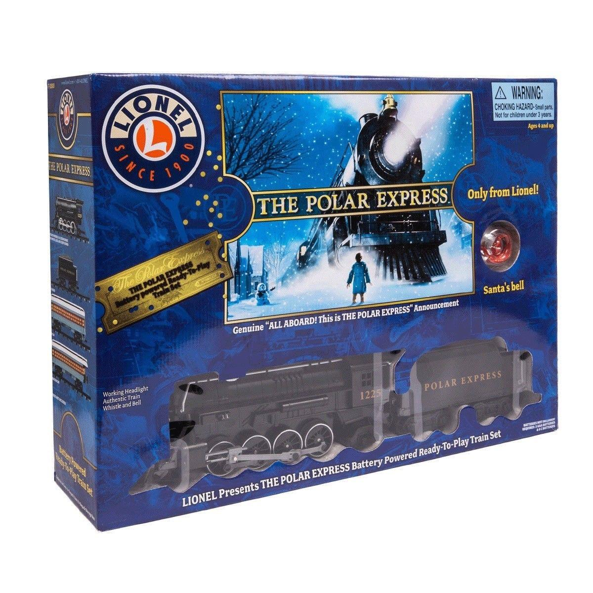 Lionel The Polar Express Train Set With Lights And Sound