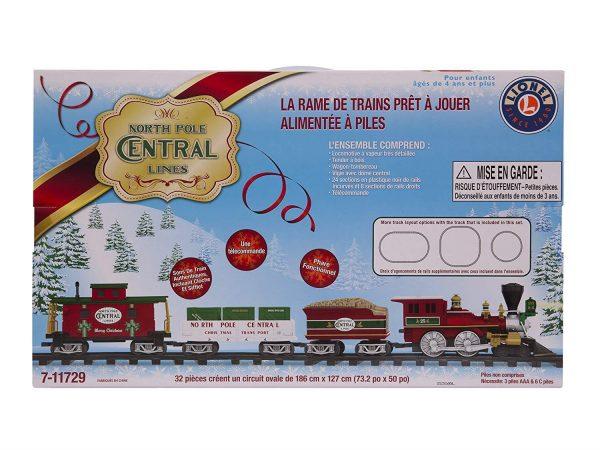Lionel COS1900337 North Pole Central Christmas Tree 22.8 inch (57.8cm) Train Set