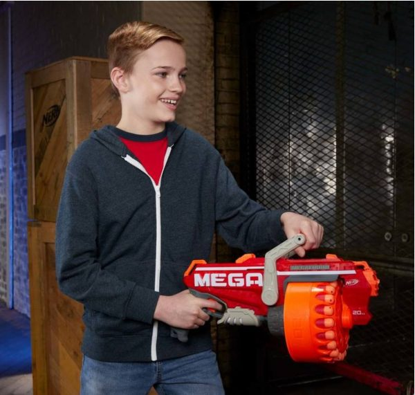 Nerf Megalodon N-Strike Mega Blaster With 60 Nerf Mega Whistler Darts