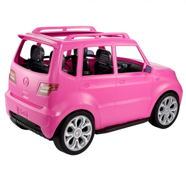 Barbie Friends Road Trip SUV Vehicle With 4 Dolls And Luggage