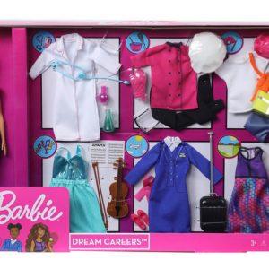 Barbie Dream Careers Fashion Closet Doll Dress up Set with Doll