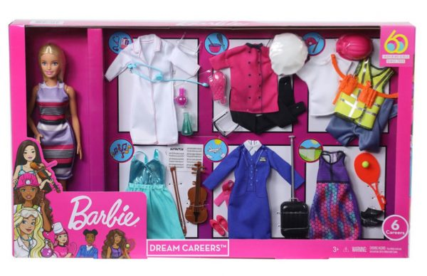 Barbie Dream Careers Fashion Closet Doll Dress up Set with Doll