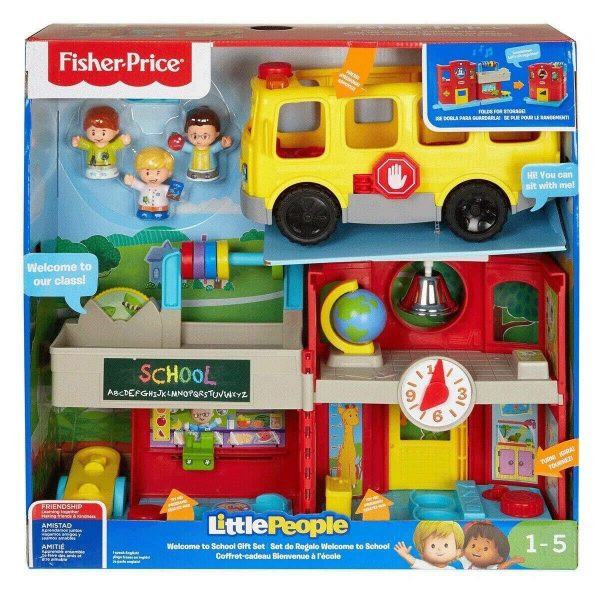 Fisher Price Little People Welcome To School Gift Set