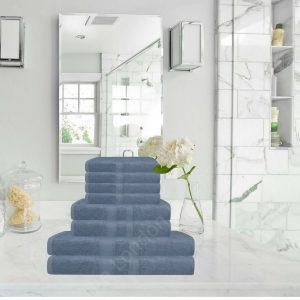 Natural Luxury BAMBOO 8pc Bathroom Bale Towel Set Egyptian Towel