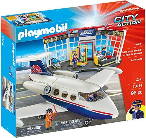 Playmobil 70114 Airport 96PC City Action Fast DELIVERY UK Seller