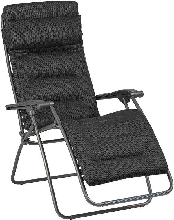 Lafuma LFM2039-8718 RSXA Clip Air Comfort, Acier, 88 x 68 x 117 cm