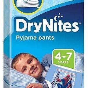 Huggies DryNites Pack de 30slips pour garçons de 4 à 7ans