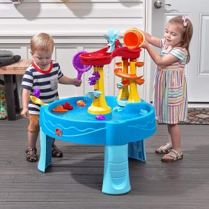 Step2 Archway Falls Water Table with 13 Accessories Water Activity