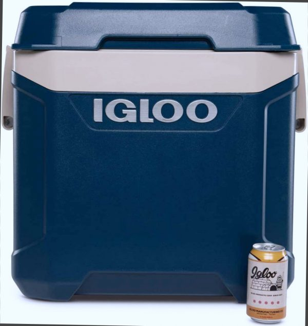Igloo Maxcold Island Latitude 62 Quart 58 Litre Rolling Cool Box Ice Drinks Food Cooler