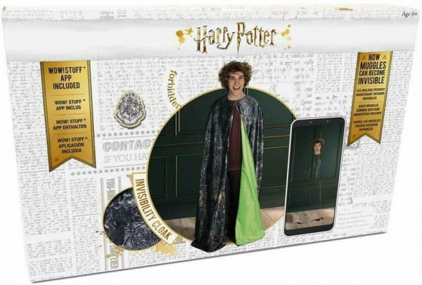 WOW! STUFF WW-1087 Harry Potter-Invisibility Cloak, Green