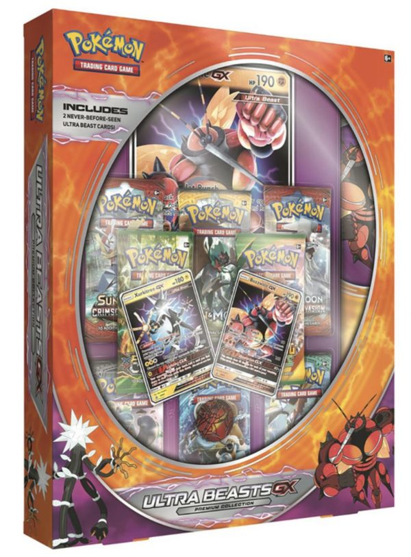 Pokemon Ultra Beasts GX Trading Card Game: Pheromosa and Celesteela or Buzzworle and Xurkitree