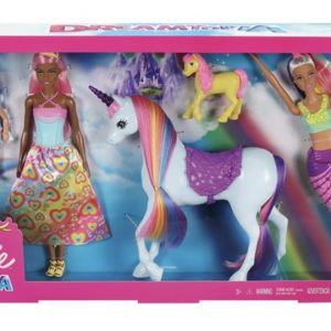 Barbie Dreamtopia Fairytale Mermaid Unicorn Dolphin Doll Gift Set
