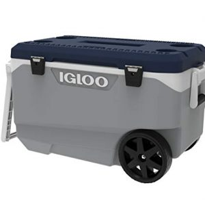 IGLOO MaxCold Latitude 90QT Roller Cooler 85L Rolling Cool Box